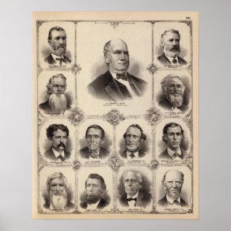 Portraits of Illinois Thirteen Poster