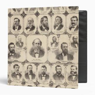 Portraits of JC Knapp Binders