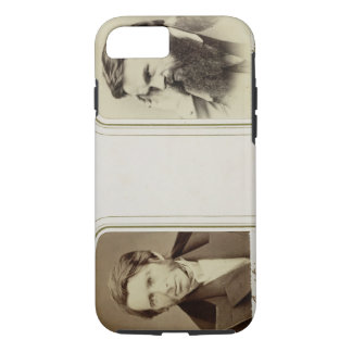 Portraits of John Ruskin (1819-1900) and William H iPhone 8/7 Case