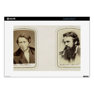Portraits of John Ruskin (1819-1900) and William H Skins For Laptops