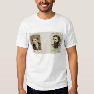 Portraits of John Ruskin (1819-1900) and William H T-shirt