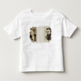 Portraits of John Ruskin (1819-1900) and William H Toddler T-shirt