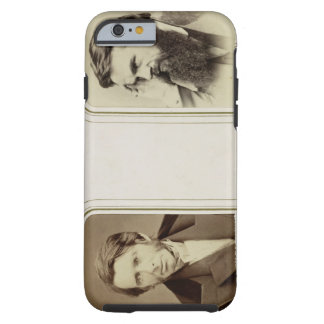 Portraits of John Ruskin (1819-1900) and William H Tough iPhone 6 Case