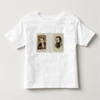 Portraits of John Ruskin (1819-1900) and William H Tshirt