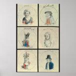 Portraits of Mary I  Edward IV Posters