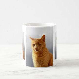 Portraits of Merlin the cat Coffee Mug