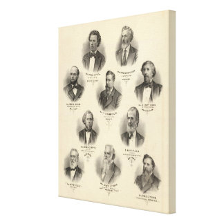 Portraits of Peter Doyle, Ferdinand Kuehn Canvas Print