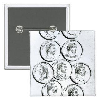 Portraits of Roman Emperors Button