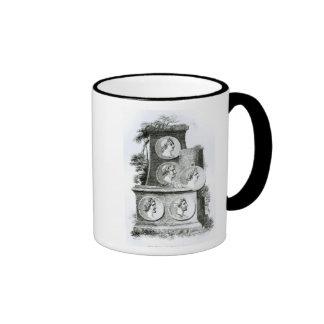 Portraits of Roman Emperors from Coffee Mug