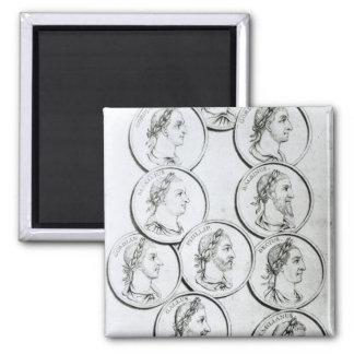Portraits of Roman Emperors Magnet