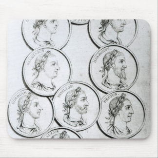 Portraits of Roman Emperors Mouse Pad