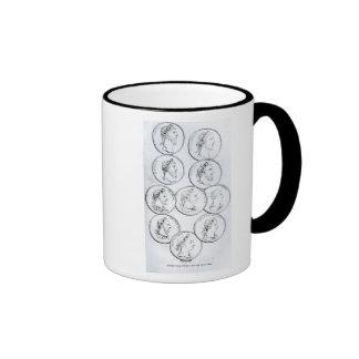 Portraits of Roman Emperors Coffee Mugs