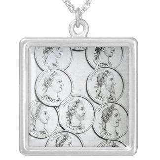 Portraits of Roman Emperors Necklace