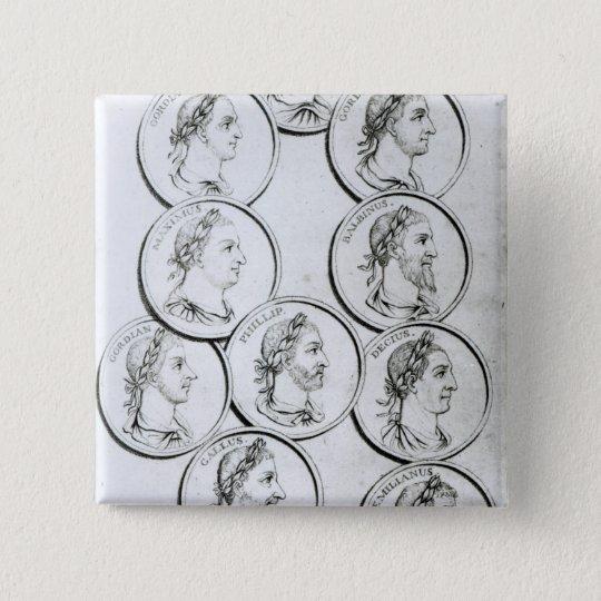Portraits of Roman Emperors Pinback Button