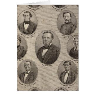 Portraits of Saml Hanna, Peter Heller Card