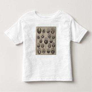 Portraits of Saml Hanna, Peter Heller Tee Shirts