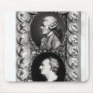 Portraits of the Encyclopaedists Jean Mouse Pad