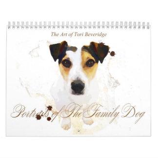 Portraits of The Family Dog Calendar
