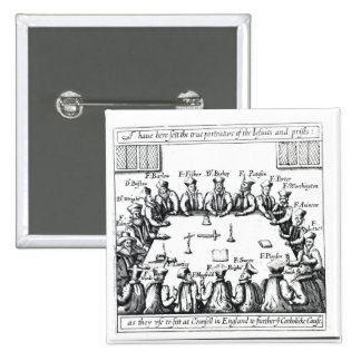 Portraits of the Jesuits and Priests Button