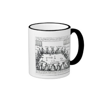 Portraits of the Jesuits and Priests Ringer Mug