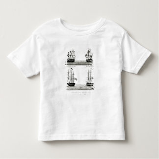 Portraits of the vessels on the Polar Expedition Toddler T-shirt