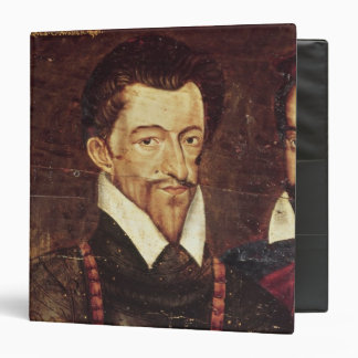 Portraits of Three Dukes of Guise 3 Ring Binder