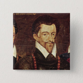 Portraits of Three Dukes of Guise Button