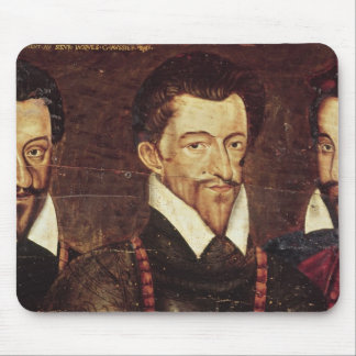 Portraits of Three Dukes of Guise Mouse Pad