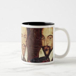 Portraits of Three Dukes of Guise Two-Tone Coffee Mug