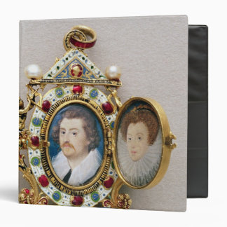 Portraits of unknown man and woman, c.1590 vinyl binders