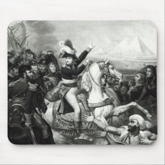 Portrayal of Napoleon as the Conquering Hero Mouse Pad