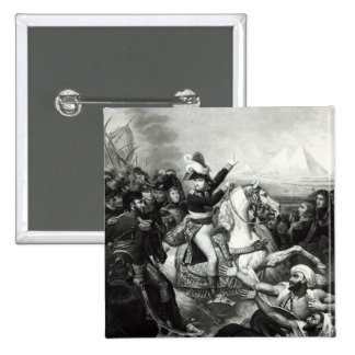 Portrayal of Napoleon as the Conquering Hero Pinback Button