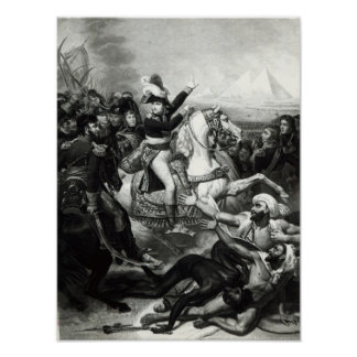 Portrayal of Napoleon as the Conquering Hero Poster