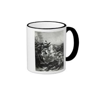 Portrayal of Napoleon as the Conquering Hero Ringer Mug