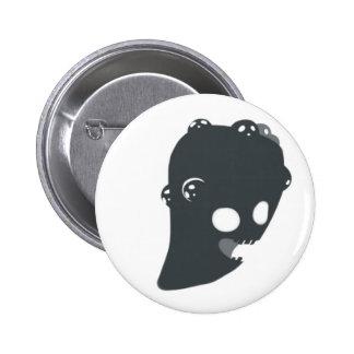Portre Spectre Pinback Button