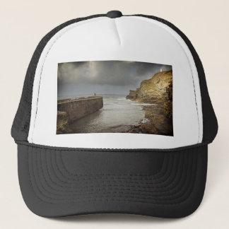 Portreath harbour trucker hat