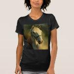 portriat del caballo camisetas