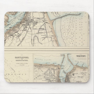 Ports and Harbours on the East Coast of England Mouse Pad