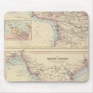 Ports and Harbours on the South Coast of England 2 Mouse Pad