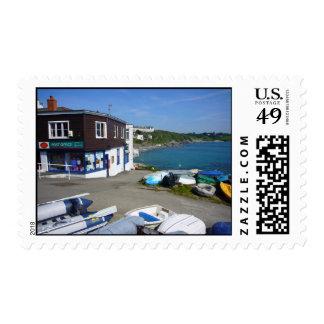 Portscatho Post Office Stamps