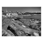 Portscatho Slipway Cornwall Print