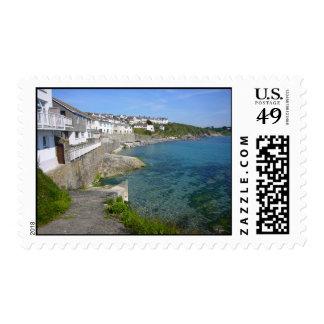 Portscatho Waterfront Postage Stamp