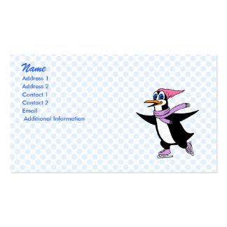 Portsia Penguin Business Card