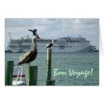 Portside View No. 2 Bon Voyage Card