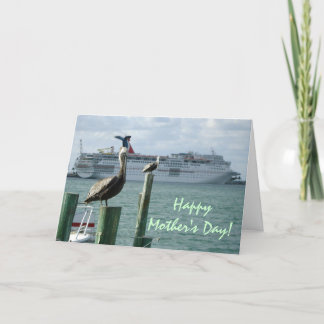 Portside View No. 2 Mothers Day Card