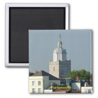 Portsmouth - England 2 Inch Square Magnet