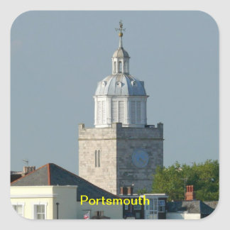 Portsmouth - England Square Sticker