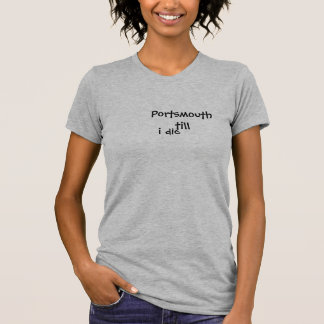 Portsmouth Fc womens t-shirt