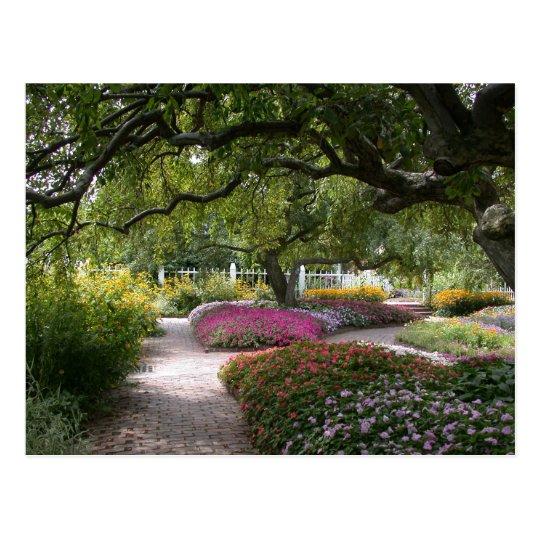 Portsmouth Garden Postcard
