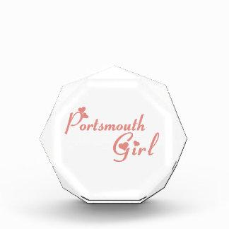Portsmouth Girl Acrylic Award
